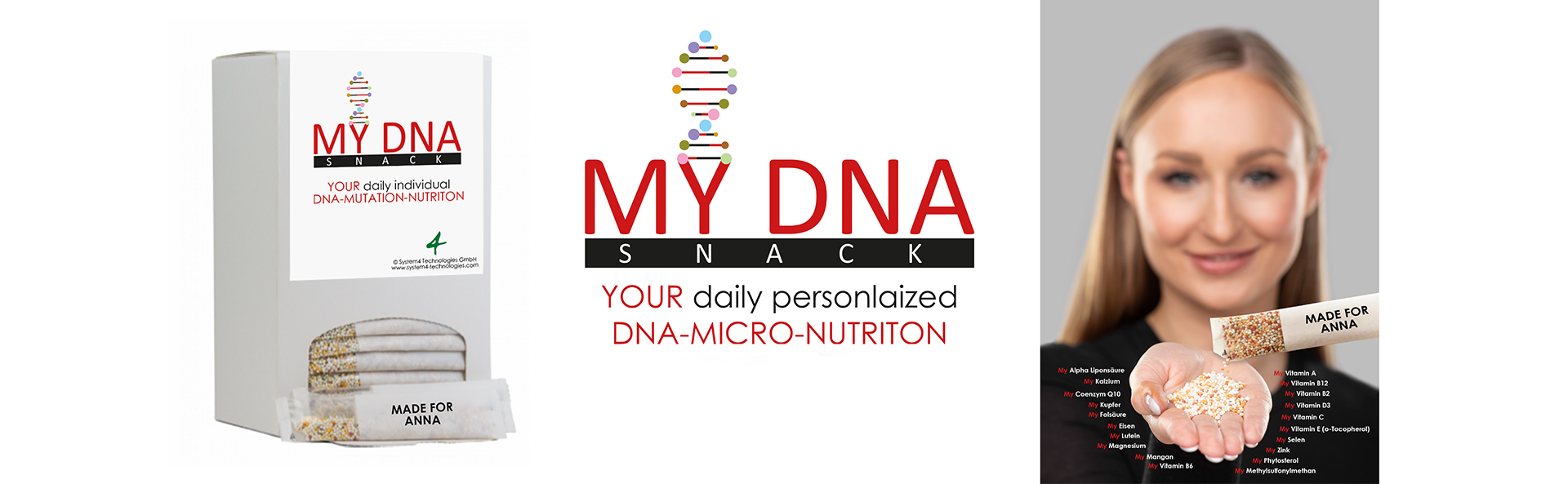 My DNA Snack DNA-Kit