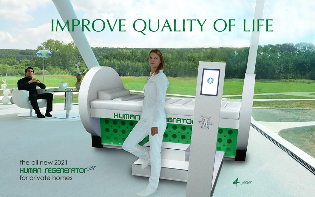 Human Regenerator Jet Improve quality of life