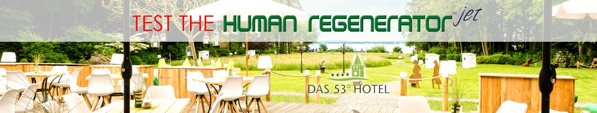 Test the Human Regenerator Jet
